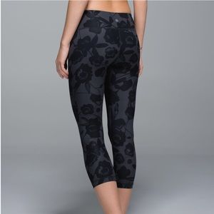 Lululemon WU Wunder Under Crop Leggings